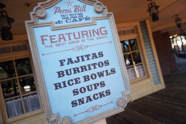 Pecos Bill Tall Tale Inn and Cafe serves South-West style food.