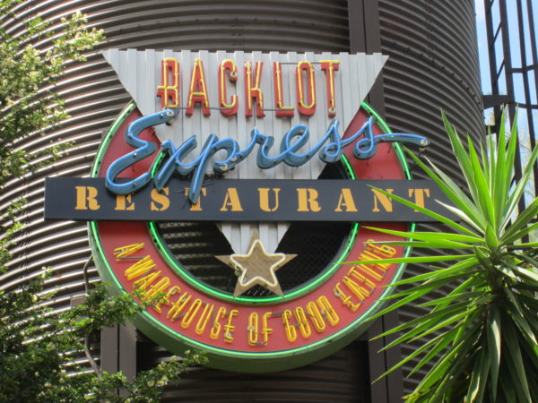 Backlot Express is a Star Wars themed quick-service restaurant.