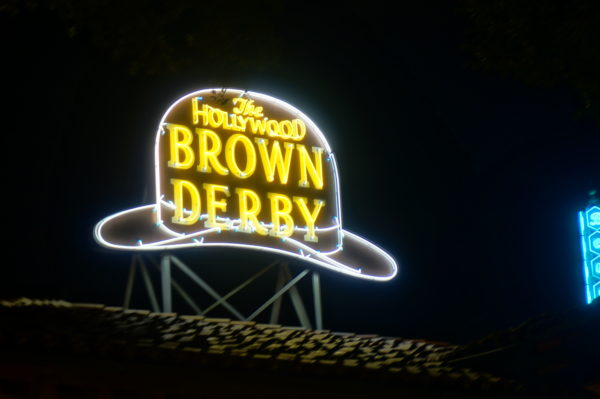 Appreciate classic Hollywood at the Hollywood Brown Derby.