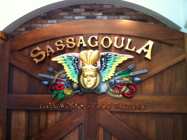 Sassagoula Food Factory and Floatworks is one of the many places to eat at Disney's Port Orleans Resort.