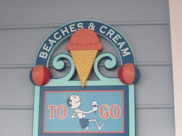 Beaches and Cream is a popular place for good ice cream!