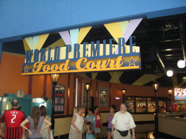 World Premier Food Court rated highest among the All-Star Resorts.