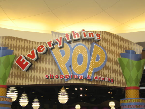 Everything Pop is a one stop shop for Shopping and Dining.