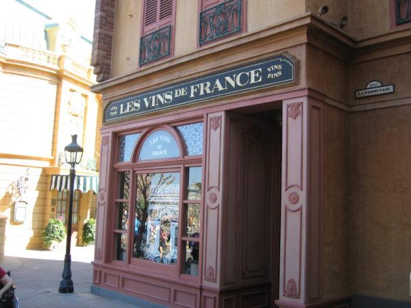 Les Vins de France serves French drinks.
