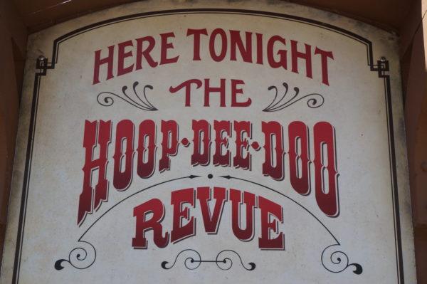 The Hoop Dee Doo Musical Revue is the longest running dinner show in Disney World!