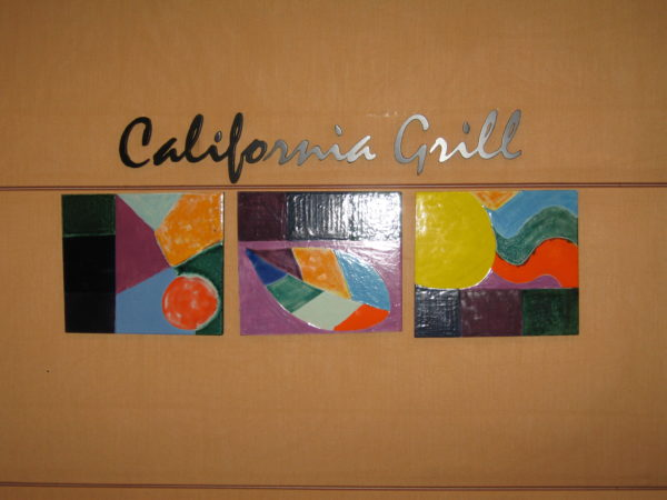 California Grill is colorful and decidedly Californian.