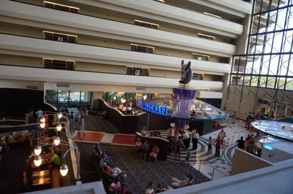 Chef Mickey's is in the lobby of Disney's Contemporary Resort.