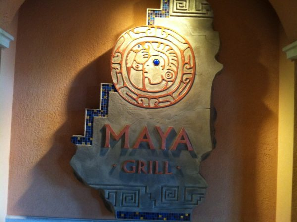 Experience authentic Mexican at the Maya Grill.