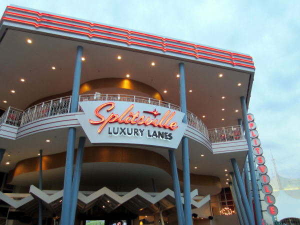 Splitsville Luxury Lane is a really fun bowling experience!
