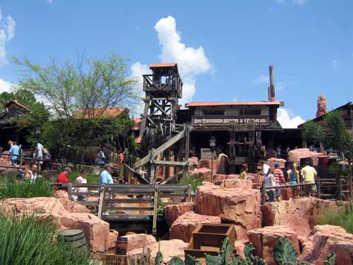 Big Thunder Mountain is exciting from start to finish!