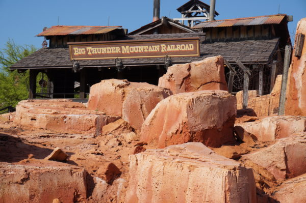 Big Thunder Mountain Railroad is my favorite attraction in Frontierland!