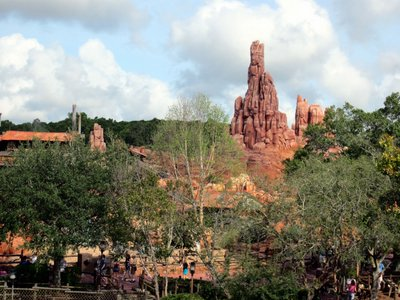 Big Thunder Mountain provides some thrills.