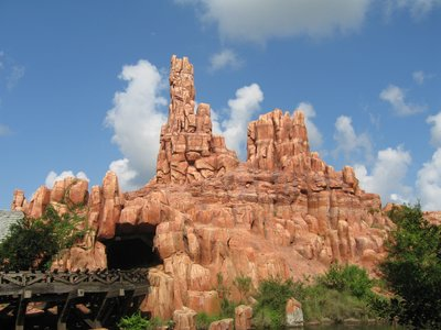 The peaks of Big Thunder Mountain take you to the American Southwest.