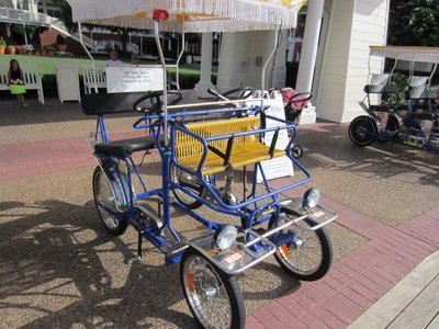 A Fun Diversion At Disney S Boardwalk Resort Get A Surrey Bike