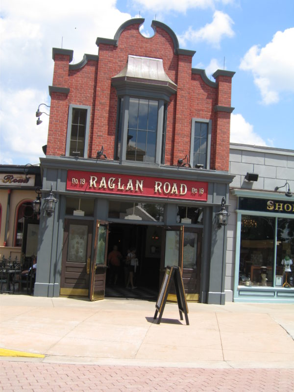 Raglan Road will be the center of St. Patrick's Day festivities in Disney World.