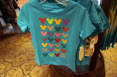 Love, peace, and Mickey t-shirt.