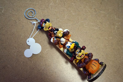 Win this Mickey Mouse Totem Pole card holder.