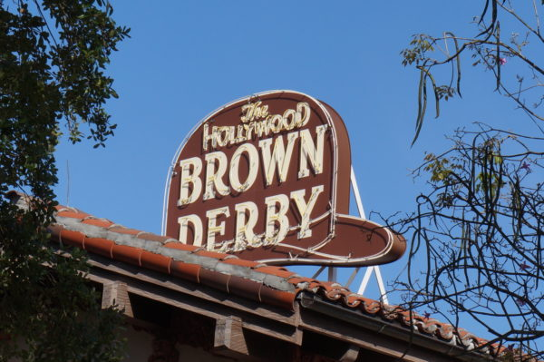 The Hollywood Brown Derby has a hat!