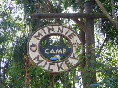 Camp Minnie Mickey Animal Kingdom
