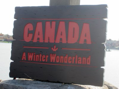 Canada Limited Time Magic Sign