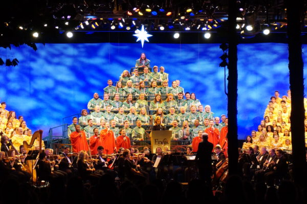 Start planning your Christmas vacations now! Candlelight Processional Narrators are announced, and dining packages are now open!