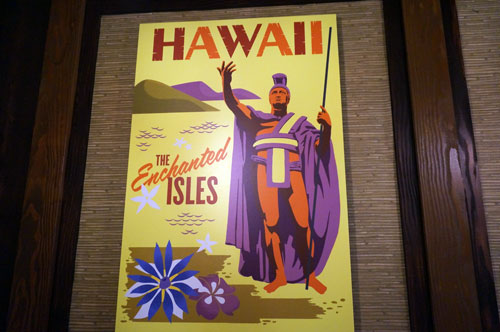 Hawaii poster - The Enchanted Isles.