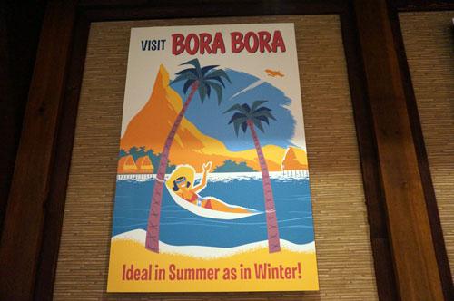 Poster: Visit Bora Bora!