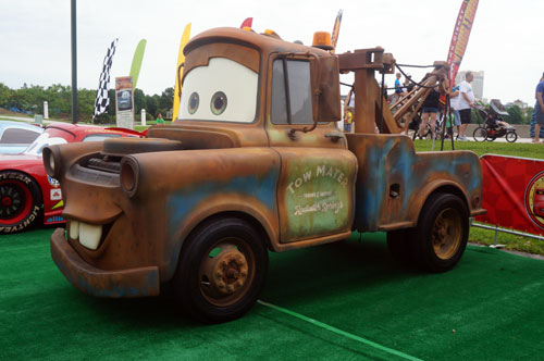 Here is your chance to meet Tow Mater.