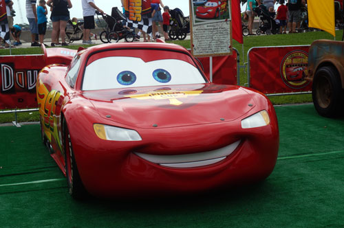Lightning McQueen attended too.