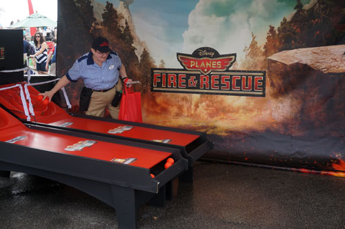 "Disney promoted the upcoming Planes ""Fire & Rescue"" movie."