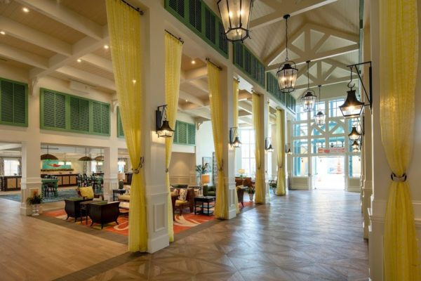 The Old Port Royale complex has been reimagined as a new port of entry for Disney's Caribbean Beach Resort. Photo credits (C) Disney Enterprises, Inc. All Rights Reserved