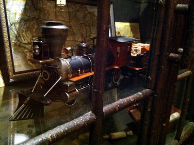 In the Carolwood Pacific room you can also see other great train memorabilia on exhibit.