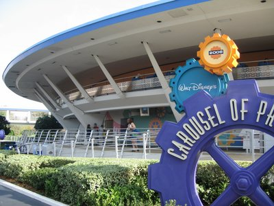 Carousel Of Progress Building