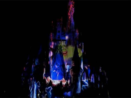 Disney adds Ursula to the Castle projection show.