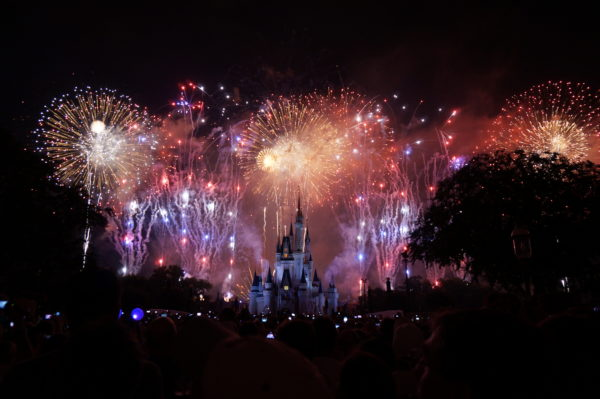 "Soon you might be able to ""feel"" Disney's amazing fireworks!"