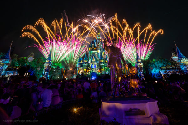 Do you remember the last time you saw fireworks in the Magic Kingdom? Photo credits (C) Disney Enterprises, Inc. All Rights Reserved