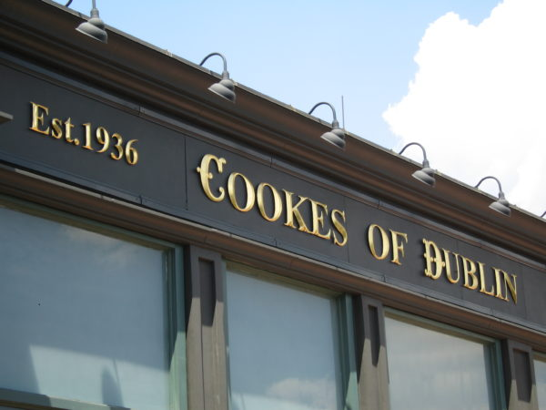 Cookes of Dublin is just around the corner from Raglan Road!