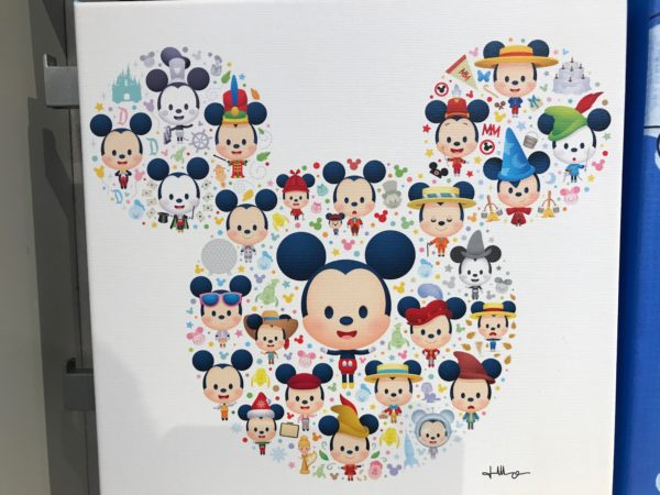 Not so hidden Mickey covered in cute!