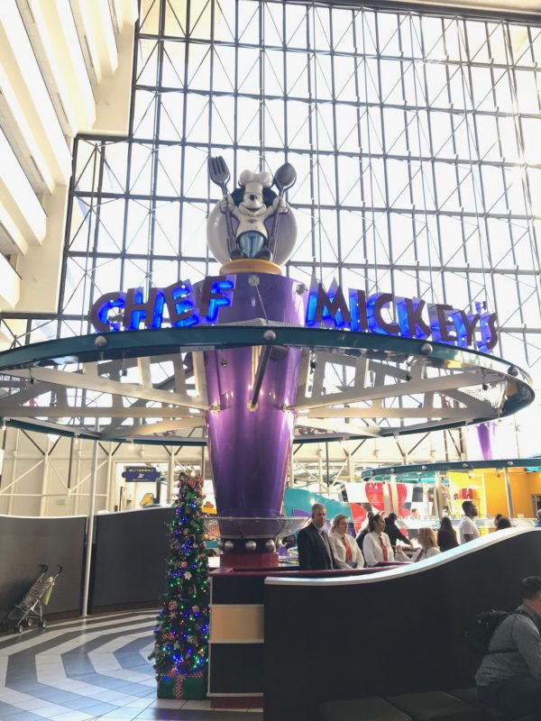 Chef Mickey's Fun Time Buffet is aptly named - it is a lot of fun!
