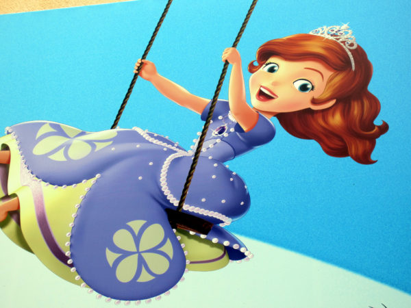 Sofia the First is swinging out of Animation Courtyard, and Fancy Nancy will take her place!