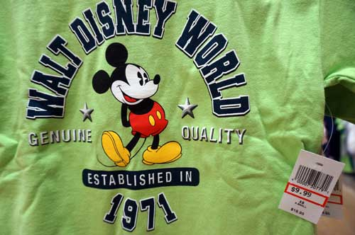 Here is another perfectly fine Mickey Mouse shirt.