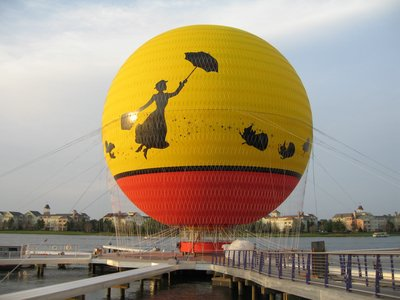 Characters In Flight Balloon Ride