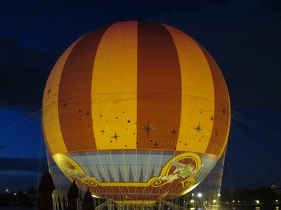 And here is a picture of the new balloon.