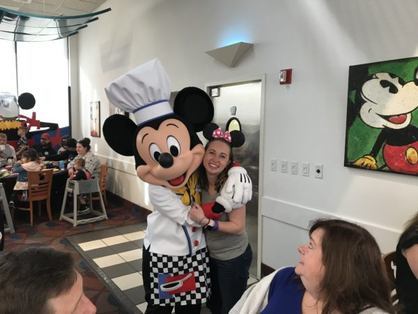 Mickey was a gracious host!