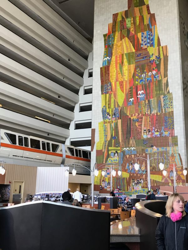 Disney's Contemporary Resort is easily accessible by monorail!