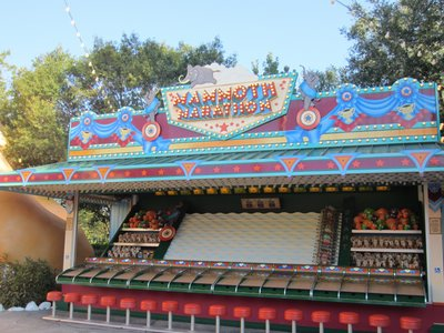 The games are nicely themed but are similar to what you might find at a local carnival.
