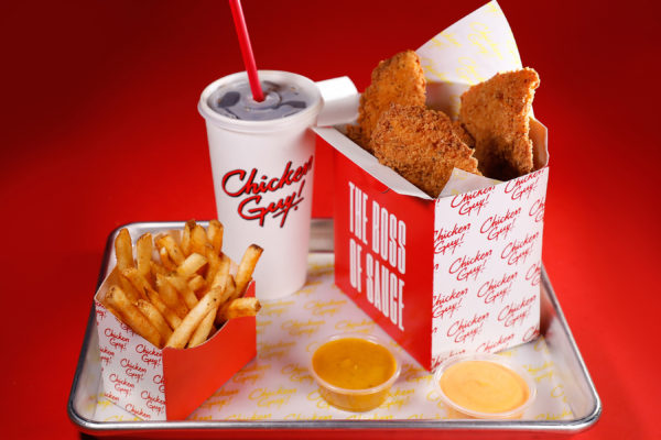 Chicken Guy! is a fast-casual chain dedicated to serving delicious, succulent chicken tenders paired with a wide variety of flavorful sauces. Photo credits (C) Disney Enterprises, Inc. All Rights Reserved