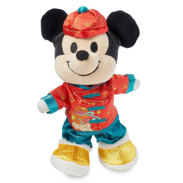 Mickey Mouse Disney nuiMOs Plush and Chinese New Year Set. Join Mickey in celebrating the Chinese New Year with this festive combination of Mickey Mouse Disney nuiMOs plush and his Disney nuiMOs Lunar New Year outfit, which includes coordinating jacket, pants, hat, and shoes. $12.99 - $17.99. Available at shopDisney.com, Disney stores around the world, Walt Disney World Resort, Hong Kong Disneyland Resort, Shanghai Disney Resort, and the Downtown Disney District at Disneyland Resort. Photo credits (C) Disney Enterprises, Inc. All Rights Reserved