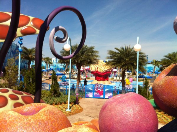 The pool at Disney's Art of Animation Resort is pretty amazing!