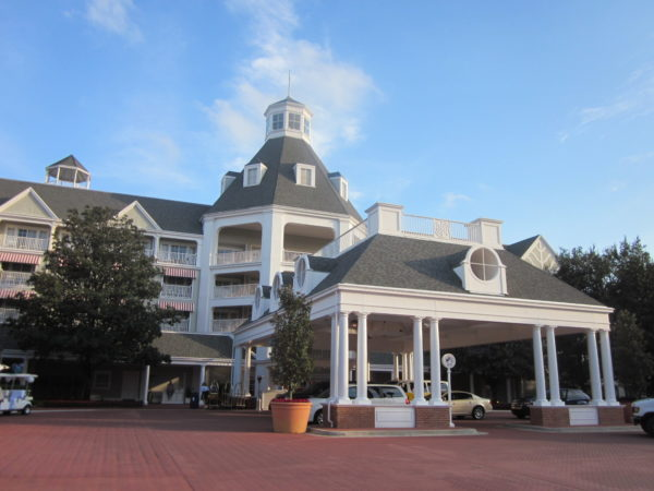 Disney's Yacht Club is within walking distance to Epcot's rear entrance!